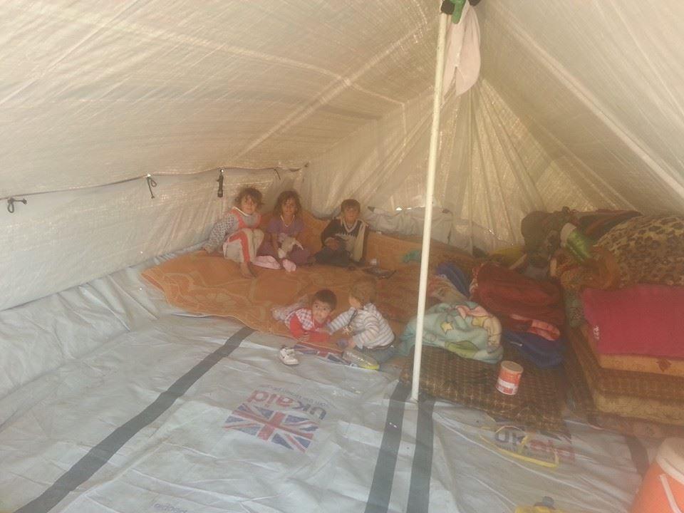 Im Zelt Vor Blitz Geschützt : Situation in den bergen jiyanev